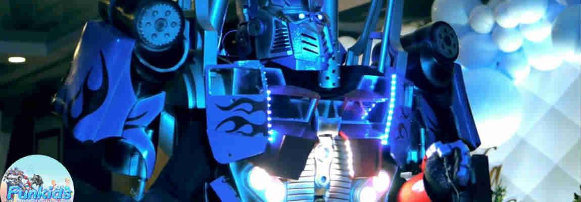 Аниматор трансформер Оптимус Прайм на детский праздник Одесса